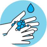 Gründliches Händewaschen!